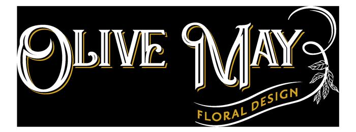 Olive May Floral Design Logo